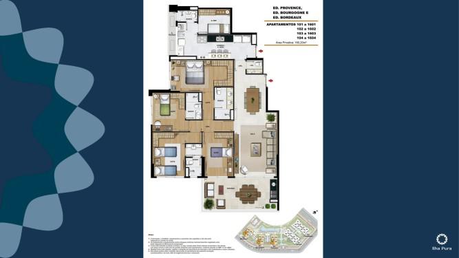 Apartamento 4 suítes