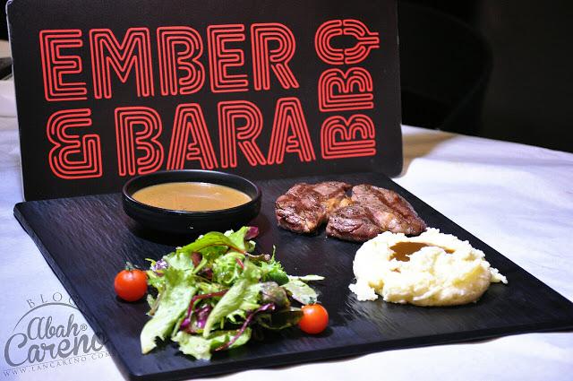 Beef Ribeya with Mushroom Sauce & Mash - RM78.00