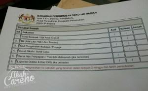 Selesai urusan pendaftaran darjah 1 Akiff