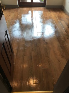 Amtico Floor Silverdale After Cleaning