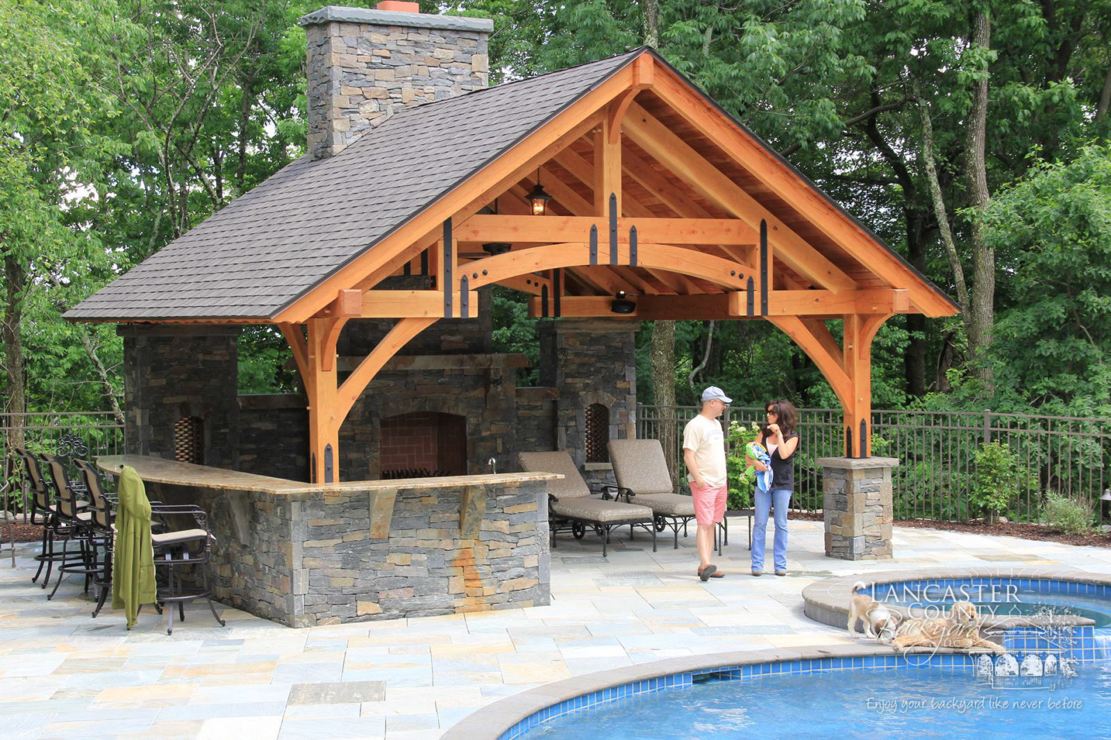 Beautiful Amish Pavilions: The Gazebo of Today | 2020 on Outdoor Patio Pavilion id=64840