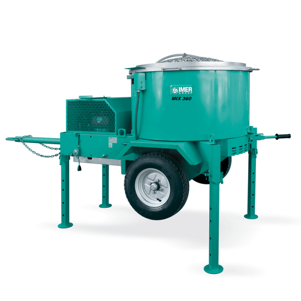 IMER Mortarman 360 Plus Gas Mixer is ready for your mid size mixing jobs!