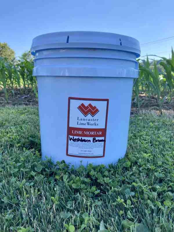 Washburn Brown Lime Mortar Mix