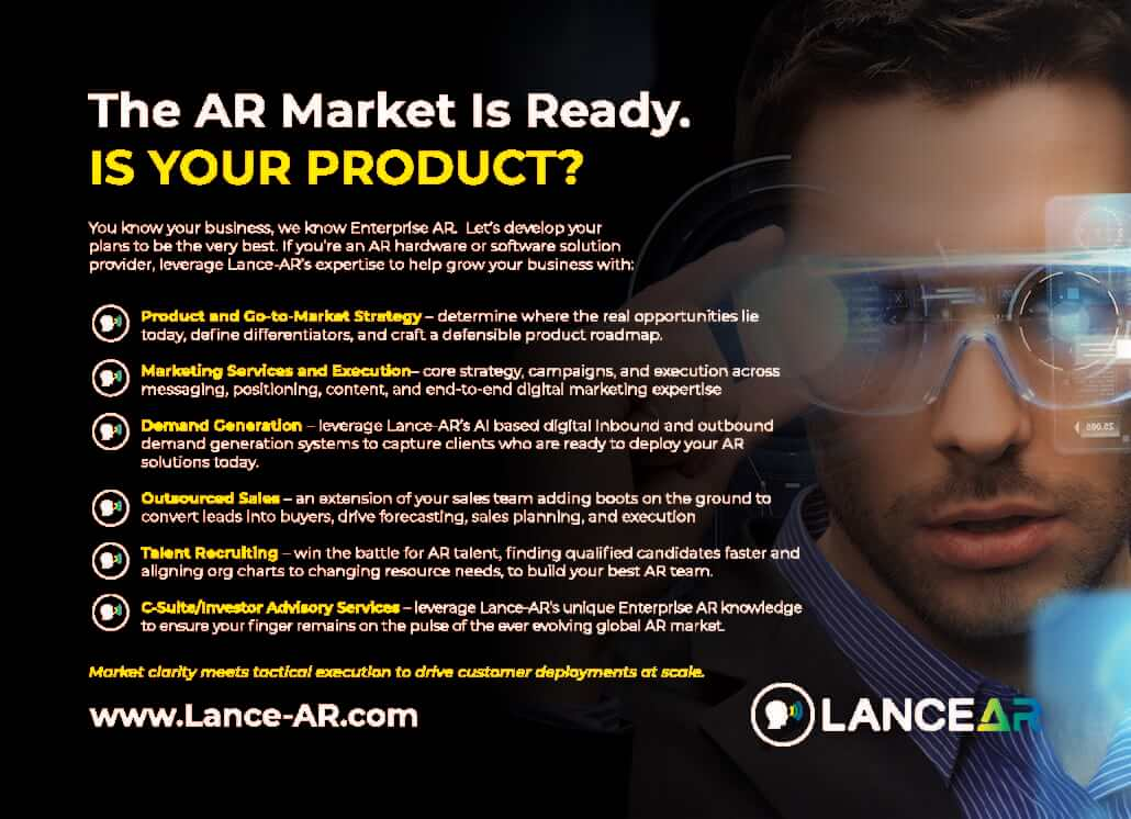 AR Solution Provider Postcard
