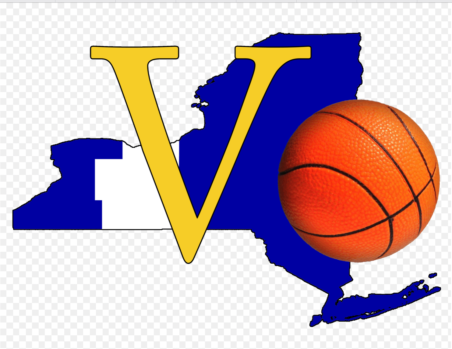 Section 5 Basketball Logo.