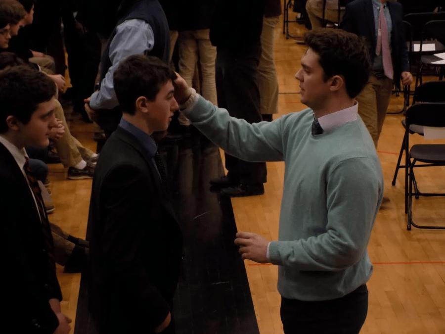 Ash Wednesday Service Enlightens McQuaid Community