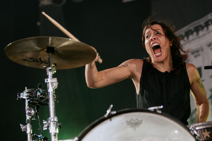 Matt & Kim at Bonnaroo 2011