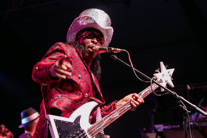 Bootsy Collins at Bonnaroo 2011