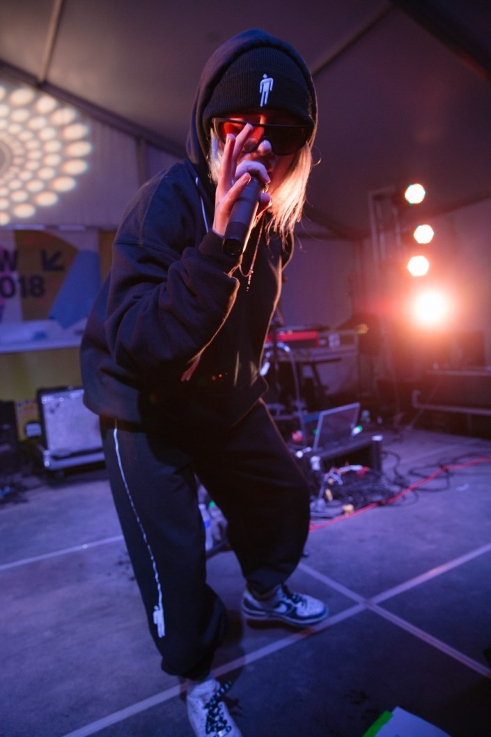 Billie Eilish at Clive Bar