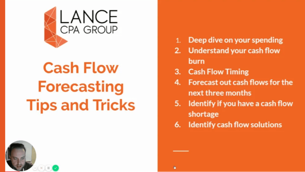 cash flow forecasting tips and tricks