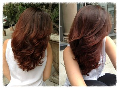 warm hair colors for brunettes