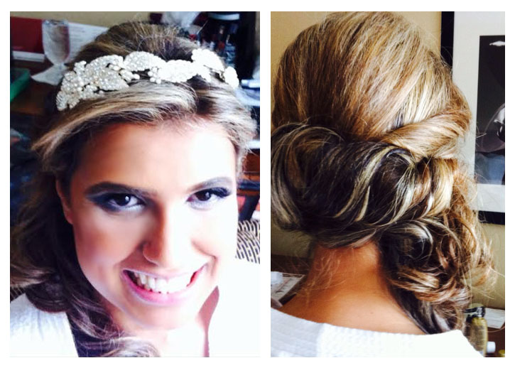 wedding updo hairstyle by Dino