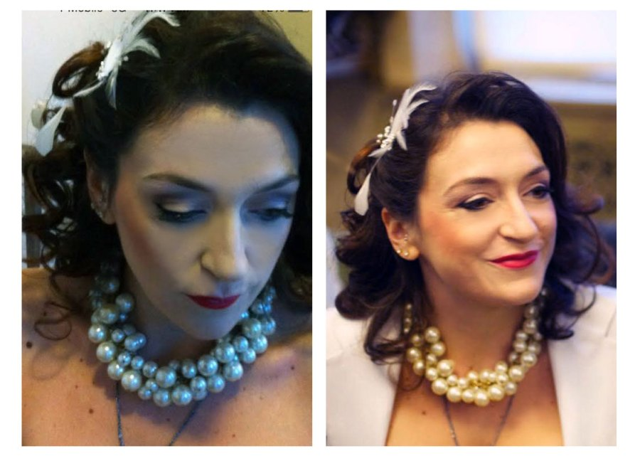bride hairstyle by hairstylist dino
