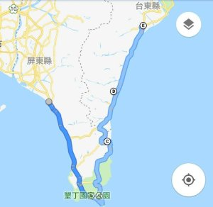 [單車環島練習曲] 2019 春節假期還是來騎車吧! 台東知本到恆春墾丁(五天四夜)