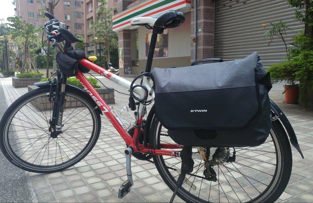 [自行車]迪卡儂C/P值超高郵差包/馬鞍包入手
