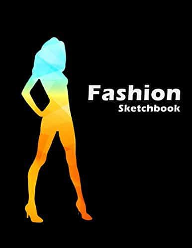 Fashion Sketchbook with 100+ Figure Template