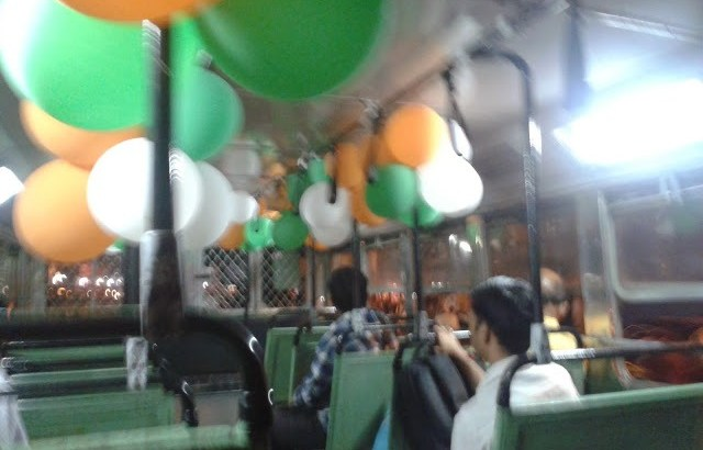 Republic Day Free bus ride