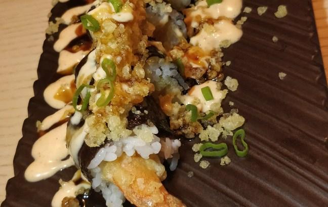 Prawns Tempura Sushi