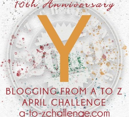 Yenta means to gossip - A to Z Challenge 2019