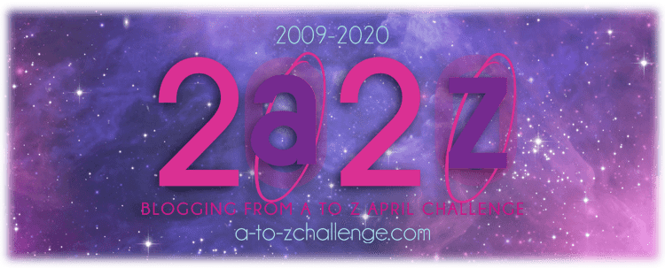 Theme reveal for the annual & exciting A to Z Challenge 2020
