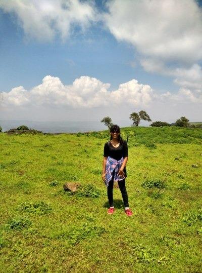 The view from the top of Harishchandragad trek