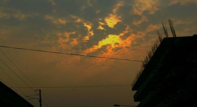 Sky in Fire Mode