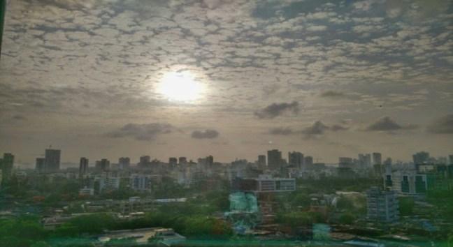 Weather in Mumbai is amazing during Mumbai Rains