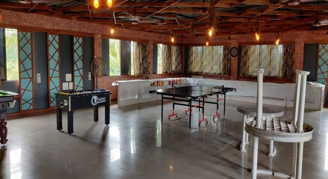 Top Resort in Panvel with gaming room.