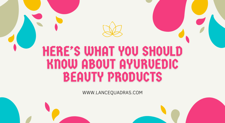 Ayurvedic beauty products in India