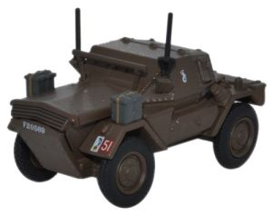 Dingo Scout Car 10th mounted Rilfle