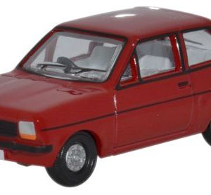 FORD FIESTA MkI in Venetian Red 1983 Registered