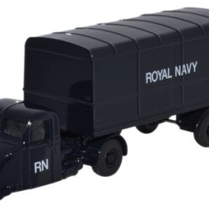 Scammell Scarab Van Trailer Royal Navy