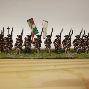 24 figure regiment turnbacks French/allies etc