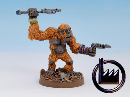 Techno ape-Pistol and rod