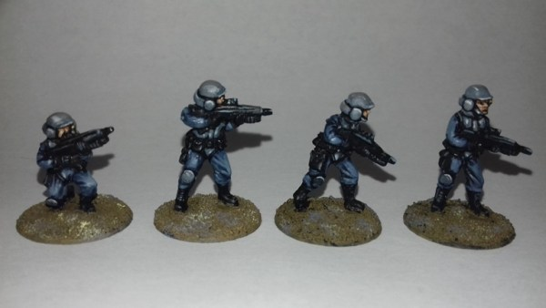Anbrois Army Grenadiers 20mm Sci fi