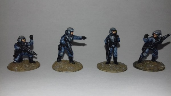 Androis Army NCO 20mm Sci fi