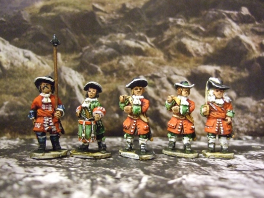 Command pack 5 figs