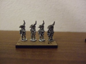 30x British Infantry Bicorn