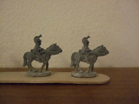 British Post 1812 Dragoons x4