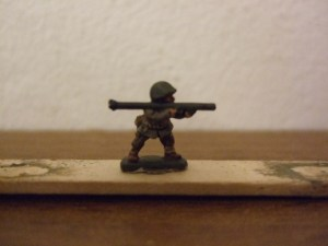 WW2 American firing Bazooka