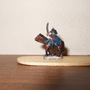 British Peninsular mounted general wearing cloak