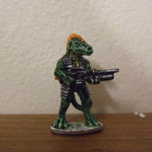 1 Raizze trooper with heavy bolt gun