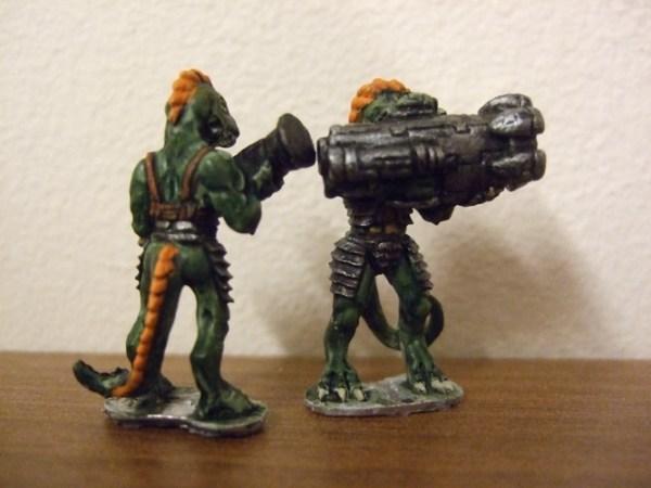 Raizze Rocket team 2 figures