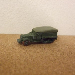 M3 Halftrack with removable tilt