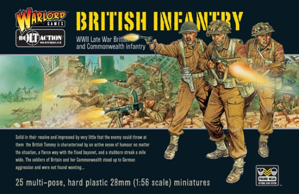 Bolt Action British Infantry