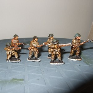 6 infantry various poses