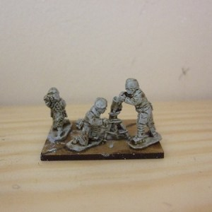 3inch mortar and 3 crew