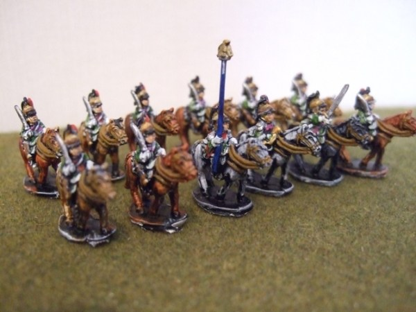 French unit of 12 Dragoons