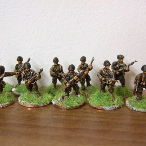 inf section advancing 42/45