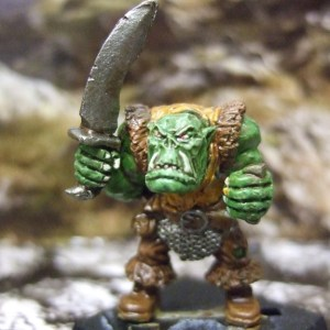 Sword armed Orc